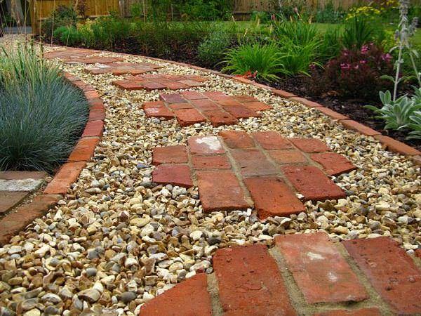 Tuğlalar ile Bahçe Süsleme Fikirleri tuğlalar ile bahçe süsleme fikirleri - tuglalar ile dekoratif bahce susleme fikirleri 9
