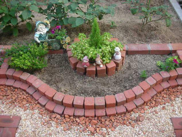 Tuğlalar ile Bahçe Süsleme Fikirleri tuğlalar ile bahçe süsleme fikirleri - tuglalar ile dekoratif bahce susleme fikirleri