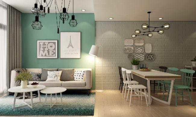 yesil-renk-ev-dekorasyonlari