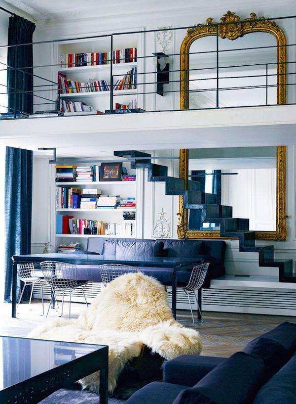 klasik-duvar-aynasi evinizi büyük gösterecek duvar ayna modelleri - klasik duvar aynasi
