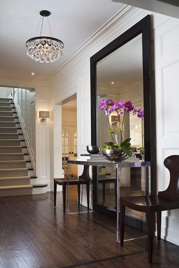 koridor-buyuk-boy-aynasi evinizi büyük gösterecek duvar ayna modelleri - koridor buyuk boy aynasi