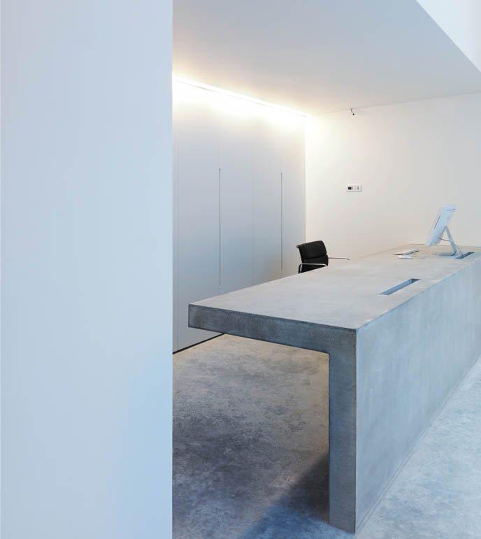 İlginç Tasarımlı Resepsiyon Masası Modelleri 5