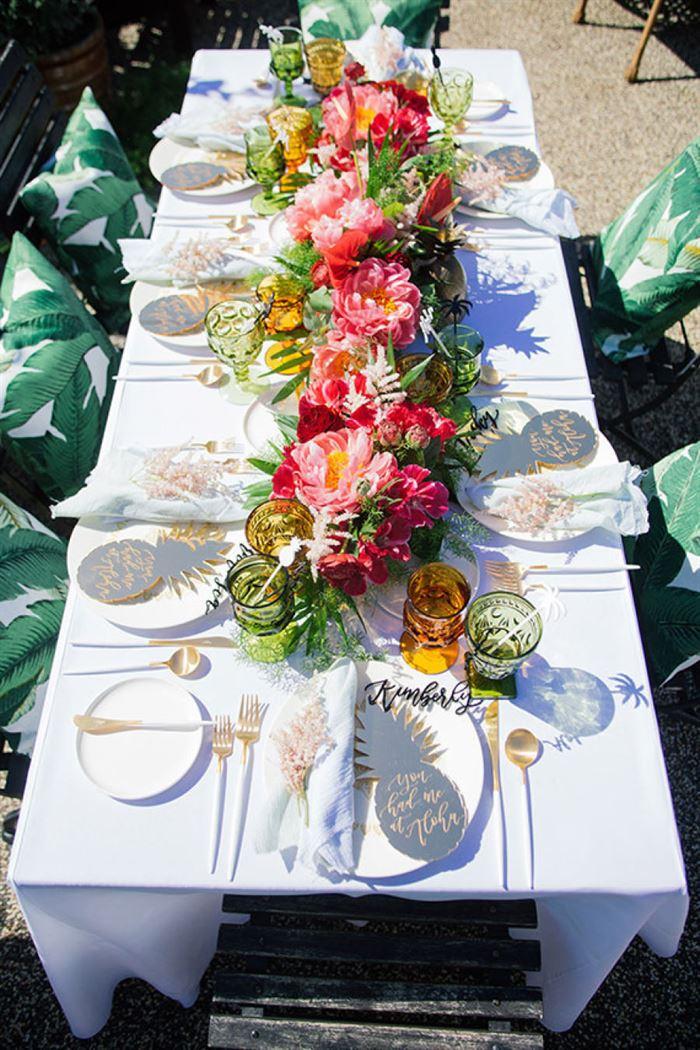 çiçeklerle dış mekan davet masası süsleme dış mekan davet masası düzenleme fikirleri - cicekler ile dismekan davet masasi susleme