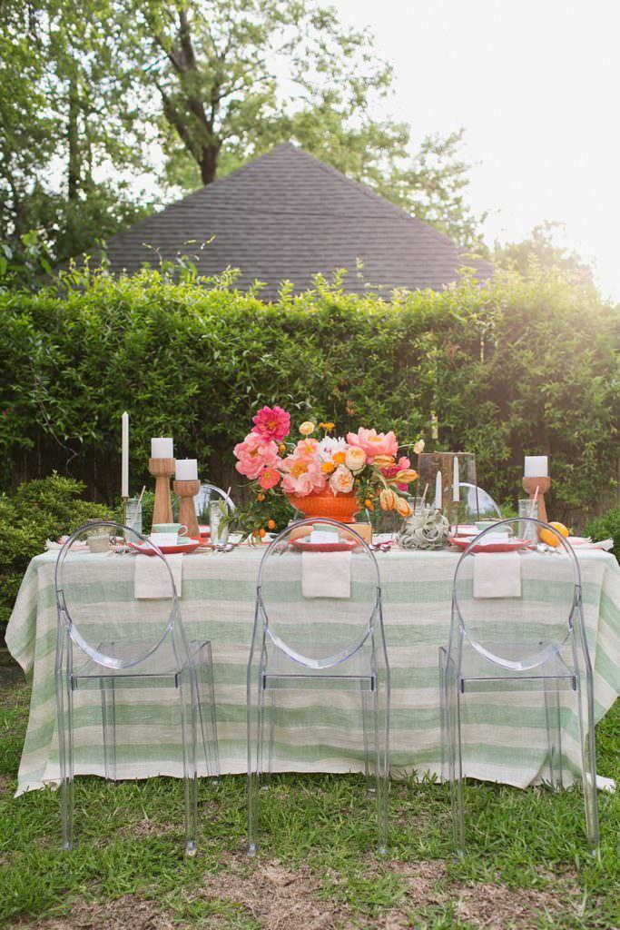 dekoratif masa düzenleme