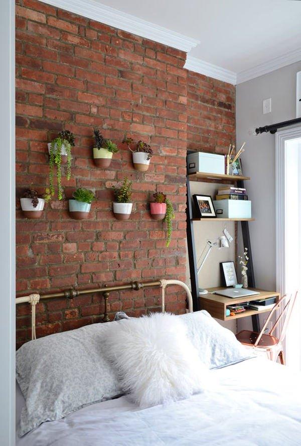küçük odalar için tasarımlar küçük odalar İçin duvar süsleme stilleri - kucuk oda duvar susleme fikirleri 1