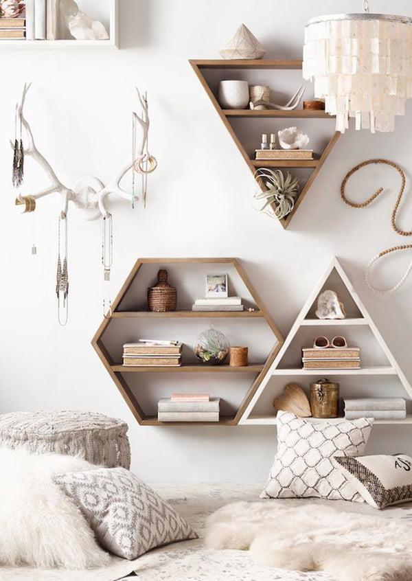 küçük odalar İçin duvar süsleme stilleri - kucuk oda duvar susleme fikirleri 10