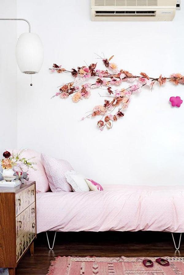 küçük evler için pratik çözümler duvar süsleme
