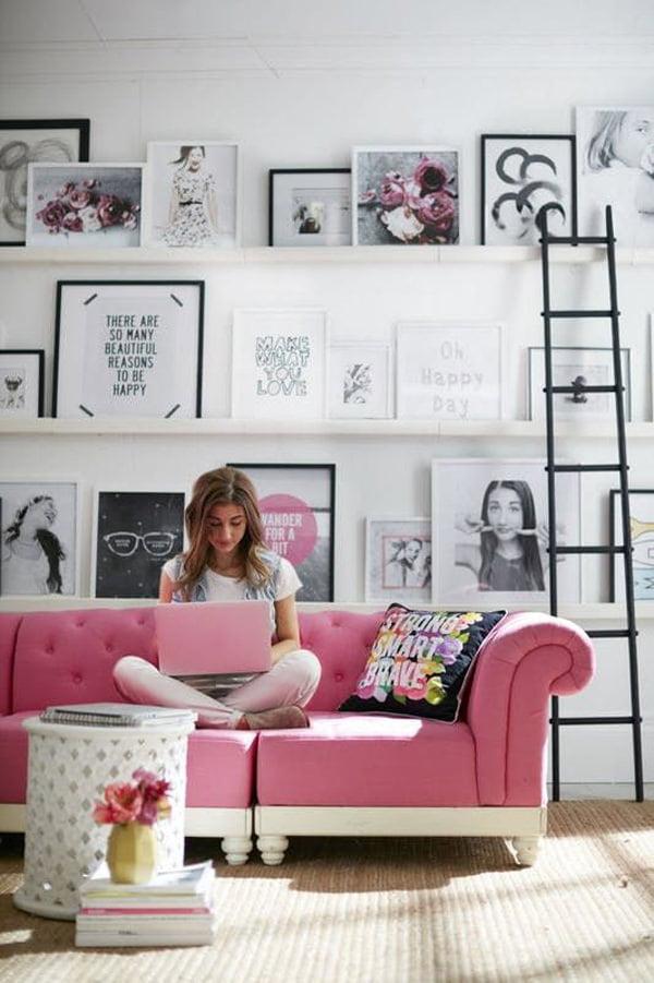 10 m2 yatak odası nasıl döşenir küçük odalar İçin duvar süsleme stilleri - kucuk oda duvar susleme fikirleri 8