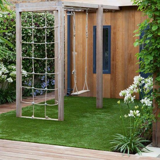 bahçe yapay çim seçimi