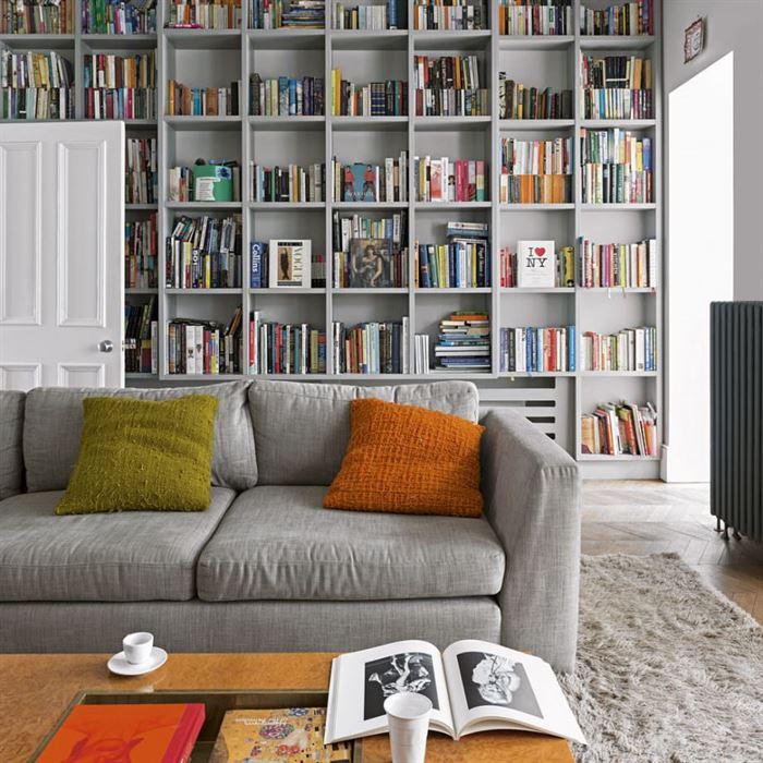 gr dekorasyonlu oturma odası