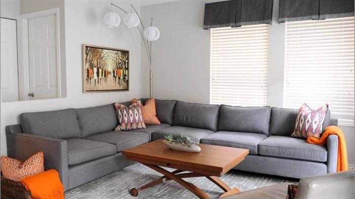 modern daire iç dekorasyon