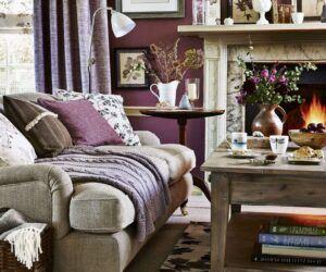 Uyumlu Renkler ile Oturma Odası Renk Fikirleri