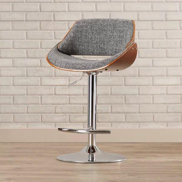 dekoratif yüksek bar tipi sandalye
