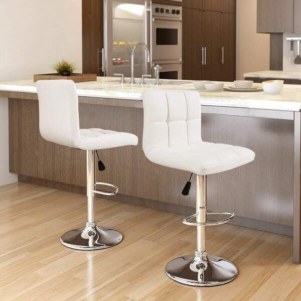 dekoratif yüksek bar sandalye
