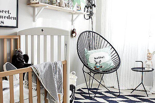 modern bebek odası dekorasyon ve mobilya fikirleri - bebek odasi dekorasyon modelleri 600x400
