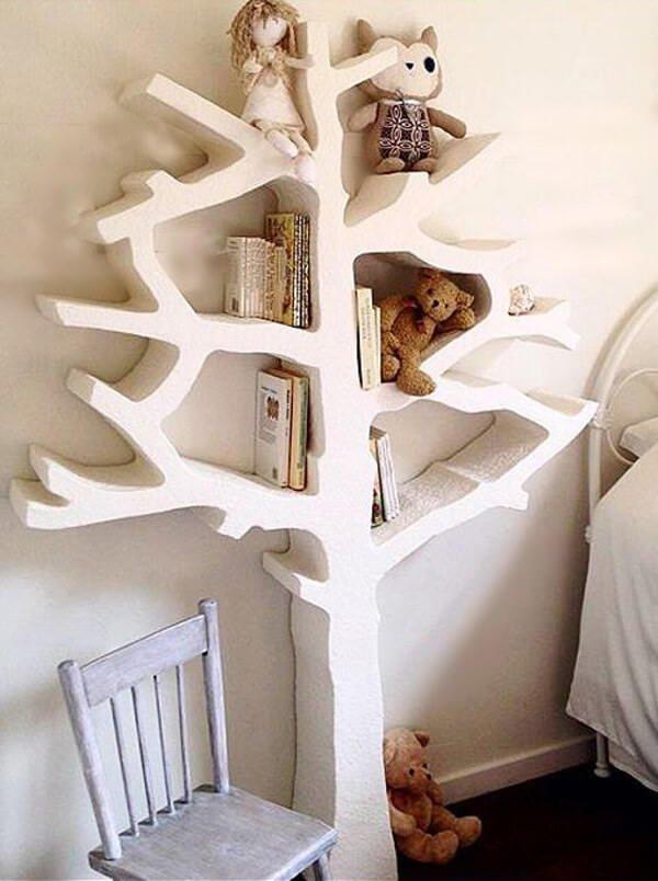 modern bebek odası dekorasyon ve mobilya fikirleri - bebek odasi raf modelleri