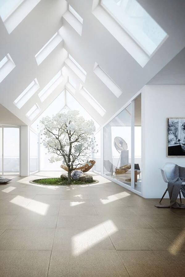 cam tavan - ev cam tavan dekorasyon fikirleri 1