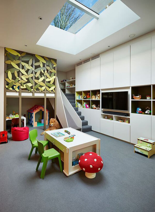 ev-cam-tavan-dekorasyon-fikirleri cam tavan - ev cam tavan dekorasyon fikirleri 13