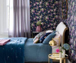 Mor Ve Lila Renklerle Yatak Odanıza Keyifli Bir Görünüm Oluşturun
