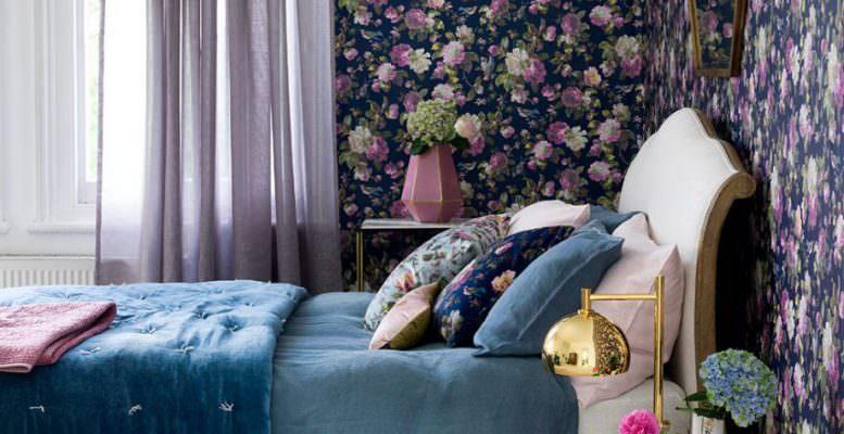 mor-lila-kombinli-yatak-odasi-dekorasyon-fikirleri mor ve lila renklerle yatak odanıza keyifli bir görünüm oluşturun - mor lila kombinli yatak odasi dekorasyon fikirleri 777x400