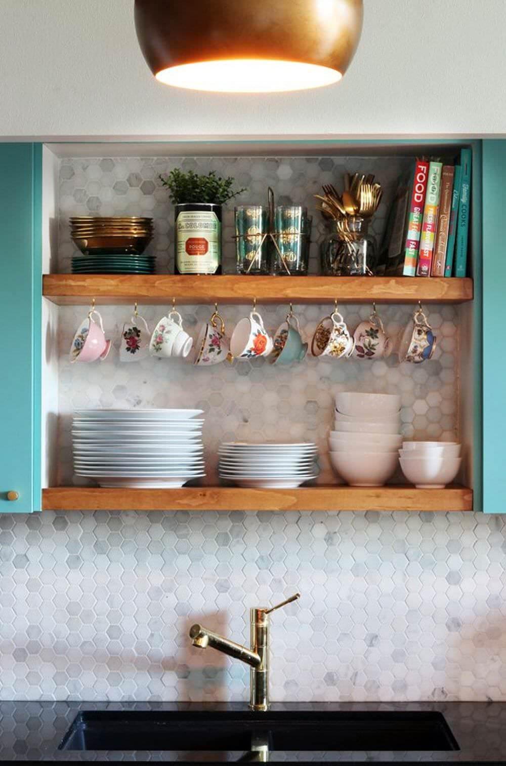 mutfak-acik-raf-modelleri açık mutfak raflarınızı nasıl düzenleyebilirsiniz - mutfak acik raf modelleri 10