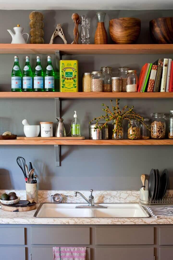 mutfak-acik-raf-modelleri açık mutfak raflarınızı nasıl düzenleyebilirsiniz - mutfak acik raf modelleri 11