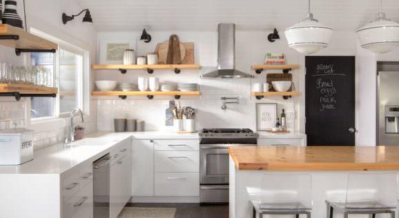 açık mutfak raflarınızı nasıl düzenleyebilirsiniz mutfak-acik-raf-modelleri