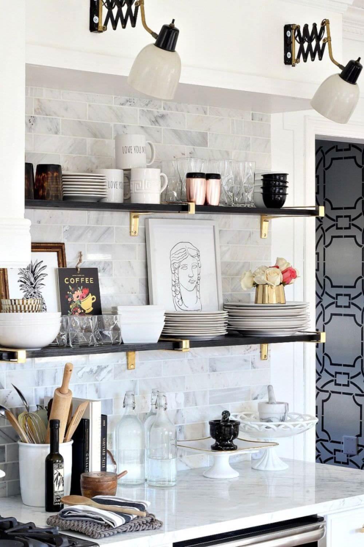 mutfak-acik-raf-modelleri açık mutfak raflarınızı nasıl düzenleyebilirsiniz - mutfak acik raf modelleri 7
