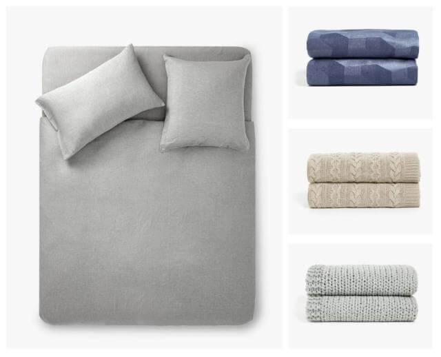kış İçin yatak nevresimleri ve kumaş türleri - yatak ortusu kumas turleri