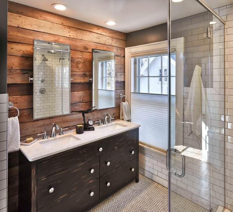 Doğanın Güzelliğinden Esinlenen Rustik Banyo Fikirleri 4