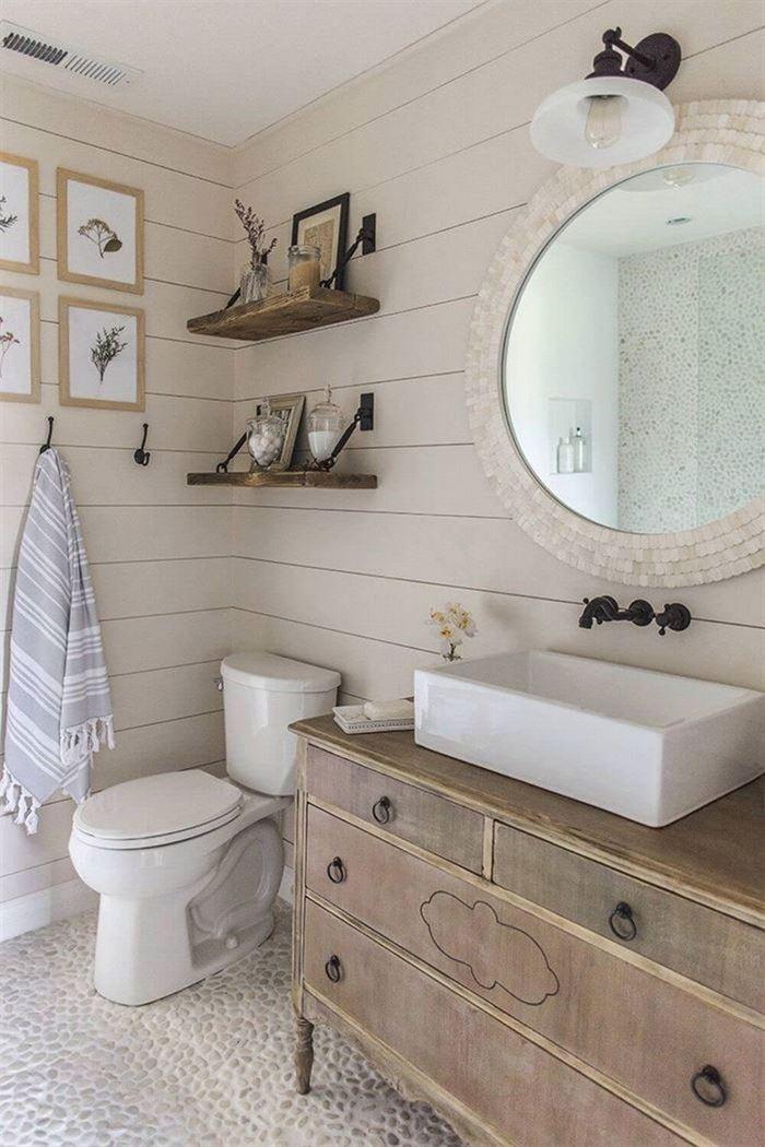 Dekoratif Dikkat Çekici Banyo Ayna Modelleri 1