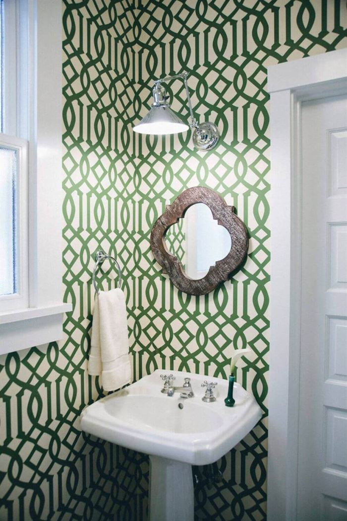 Dekoratif Dikkat Çekici Banyo Ayna Modelleri 3