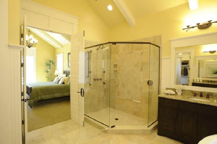 dekoratif duşa kabin