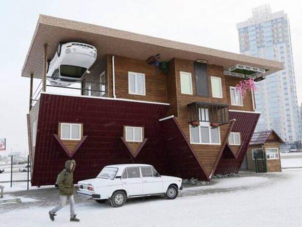 İlginç Şaşırtıcı ev modelleri - ters tasarlanmis ilginc ev modelleri 10