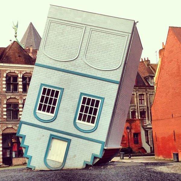 ilginç ters tasarlanmış ev modelleri