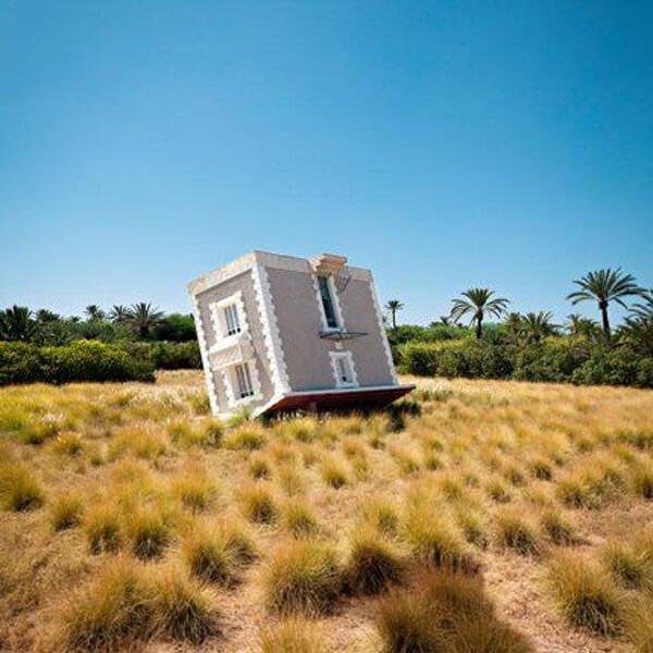 ters yapılmış ev tasarımları