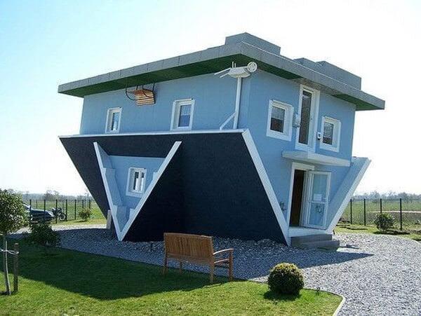 İlginç Şaşırtıcı ev modelleri - ters tasarlanmis ilginc ev modelleri 18