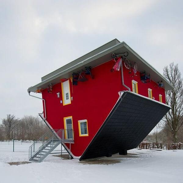 İlginç Şaşırtıcı ev modelleri - ters tasarlanmis ilginc ev modelleri 2