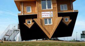 Ters Tasarlanmış İlginç Şaşırtıcı Ev Modelleri 12