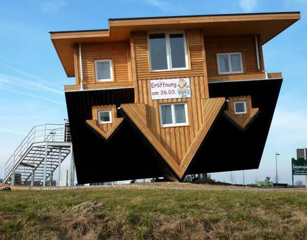 Ters Tasarlanmış İlginç Şaşırtıcı Ev Modelleri 26