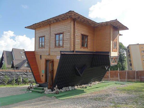ters tasarlanmış İlginç Şaşırtıcı ev modelleri
