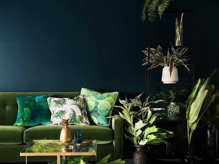 Ev Dekorasyonunda Yeşil Nasıl Durur 3
