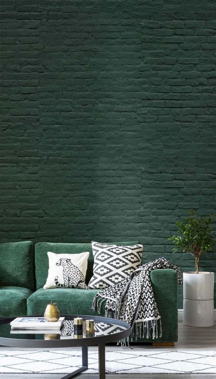 yeşil renkli koltuk tasarımları