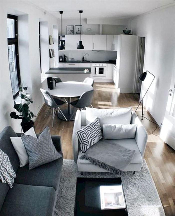 küçük daire oturma odası