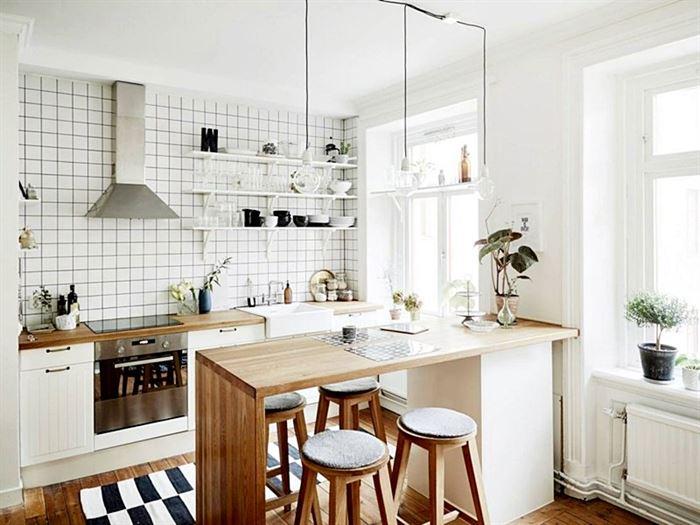 küçük daire mutfak düzenleme