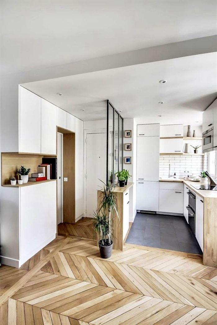 modern küçük daire dekorasyon