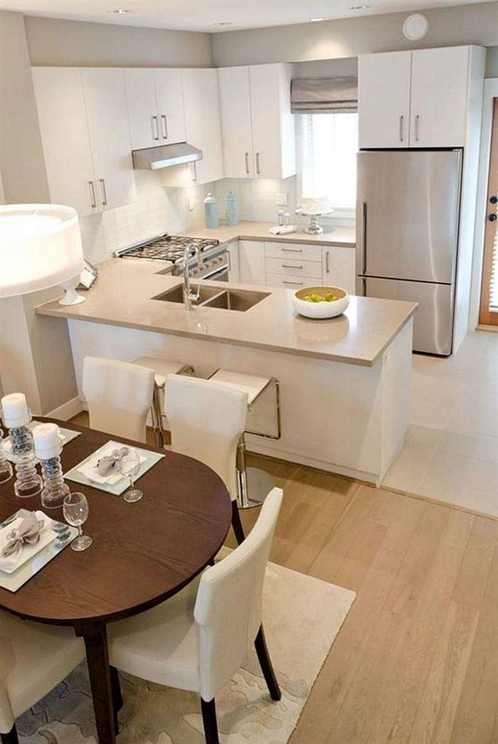 küçük daire mutfak tasarımı