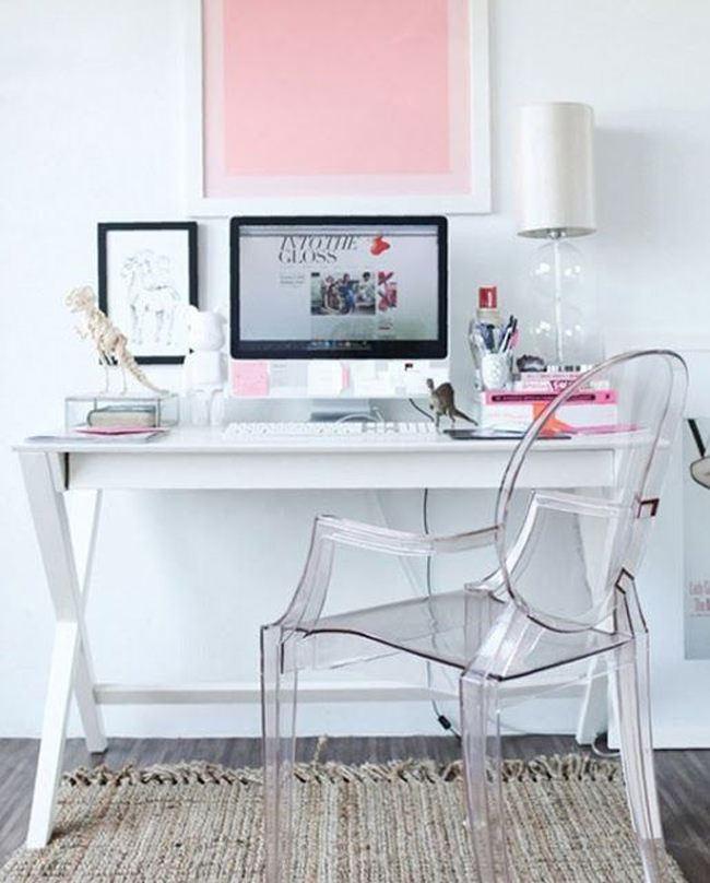 şeffaf mobilya - akralik seffaf sandalye modelleri - Şeffaflığı Sevenler İçin Şeffaf Mobilya Tasarımları
