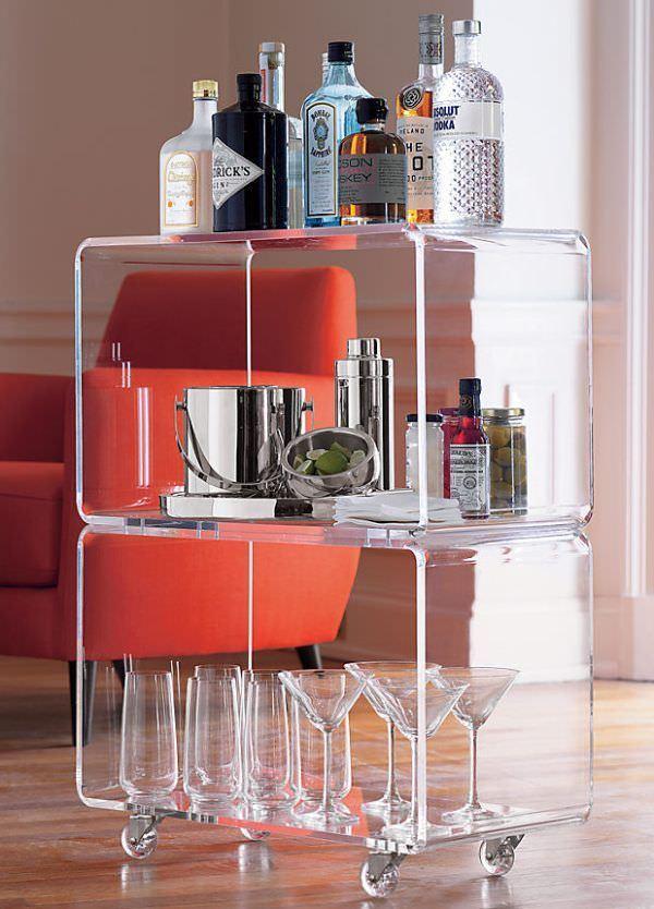Şeffaflığı Sevenler İçin Şeffaf Mobilya Tasarımları şeffaf mobilya - cam seffaf bar - Şeffaflığı Sevenler İçin Şeffaf Mobilya Tasarımları