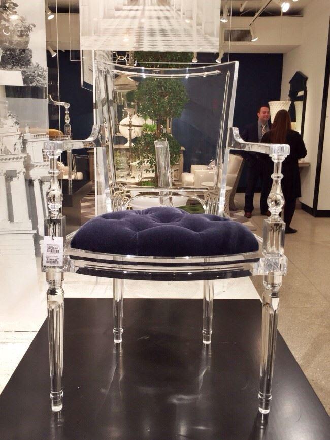 şeffaf mobilya - seffaf cam gibi sandalye - Şeffaflığı Sevenler İçin Şeffaf Mobilya Tasarımları
